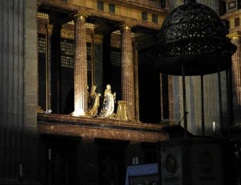 El Escorial: Klosterpalast - Kirche Chor [linke Seite] (2019)