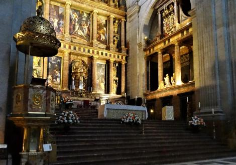 El Escorial: Klosterpalast - Kirche Chor (2019)