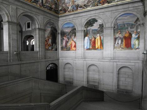 El Escorial: Klosterpalast - Haupttreppe (2019)