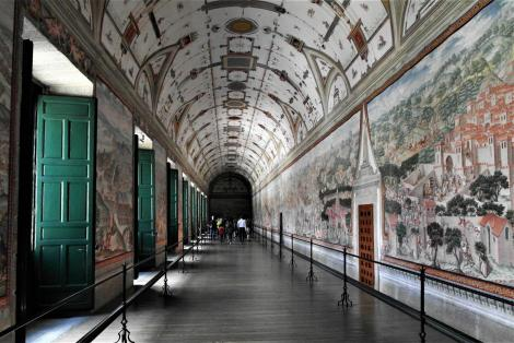 El Escorial: Klosterpalast - Schlachtensaal (2019)