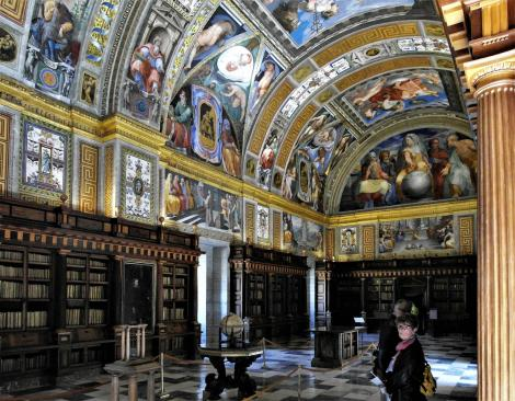 El Escorial: Klosterpalast - Bibliothek (2019)