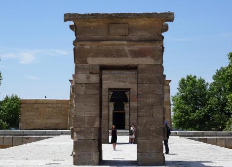 Madrid: Debod-Tempel aus Ägypten (2019)