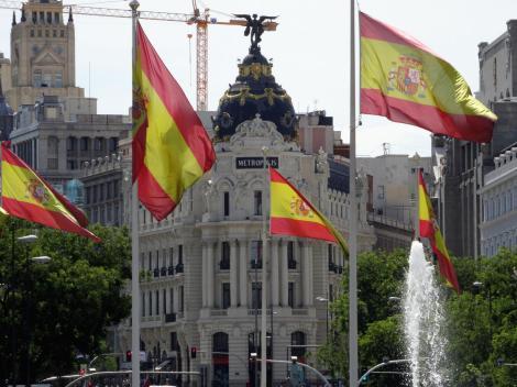 Madrid: Metropolis-Gebäude (2019)