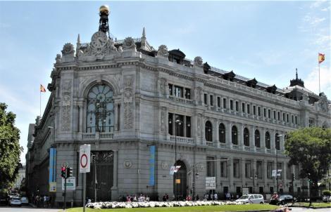 Madrid: Bank von Spanien (2019)