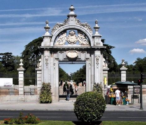 Madrid: Eingang zum Retiro-Park (2019)