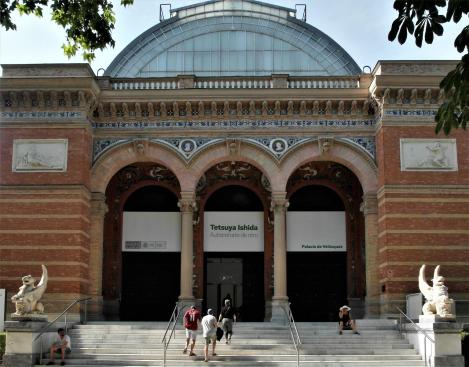 Madrid: Velazquez-Palast im Retiro-Park (2019)