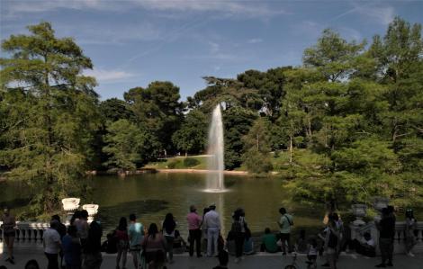 Madrid: See beim Kristallpalast im Retiro-Park (2019)