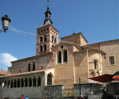 Segovia: Kirche San Martin (2019)