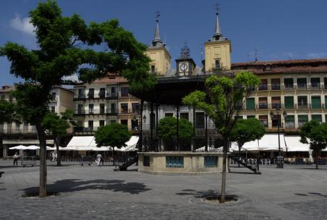 Segovia: Plaza Mayor - Rathaus (2019)