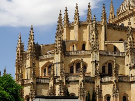 Segovia: Kathedrale - Chor (2019)
