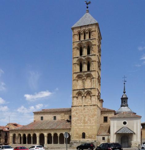 Segovia: Kirche San Esteban (2019)