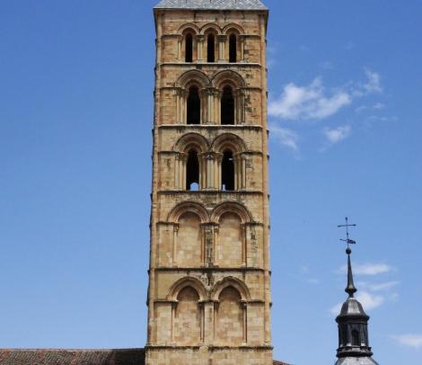 Segovia: Kirche San Esteban - Turm (2019)