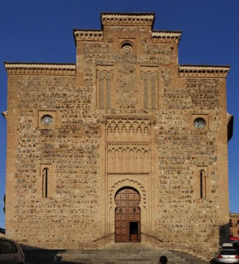 Toledo: Kirche Santiago del Arrabal - Westfassade (2019)