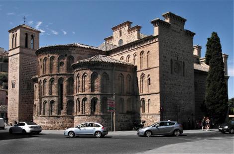 Toledo: Kirche Santiago del Arrabal - Ostseite (2019)
