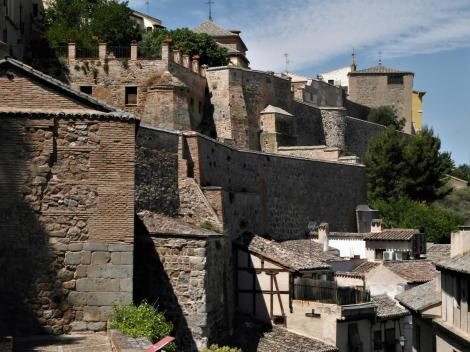 Toledo: Innere Stadtmauer beim Sonnentor (2019)