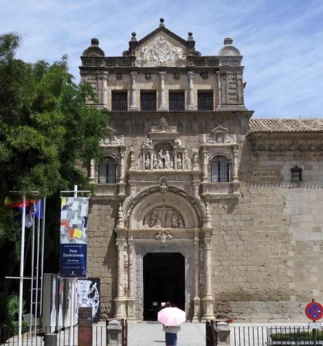 Toledo: Hospital de Santa Cruz - Portal (2019)