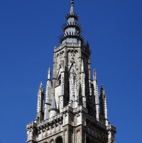 Toledo: Kathedrale - Turm (2019)