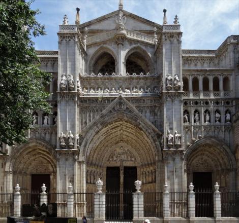 Toledo: Kathedrale - Westfassade (2019)