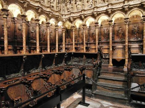 Toledo: Kathedrale - Chorgestühl im Coro (2019)