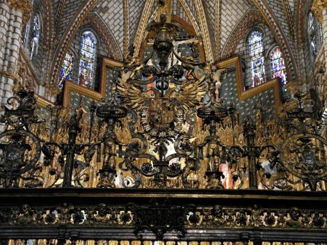 Toledo: Kathedrale - Gitter der Hauptkapelle [Capilla Mayor] (2019)