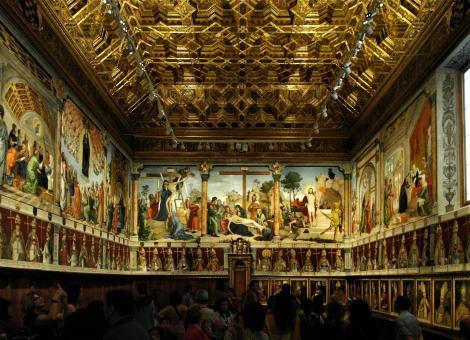 Toledo: Kathedrale - Kapitelsaal (2019)