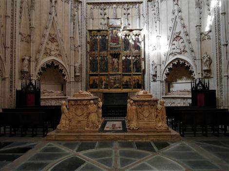 Toledo: Kathedrale - Santiagokapelle (2019)