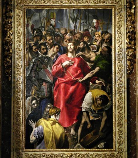 "Toledo: Kathedrale - ""Entkleidung Christi"" von El Greco in der Sakristei (2019)"