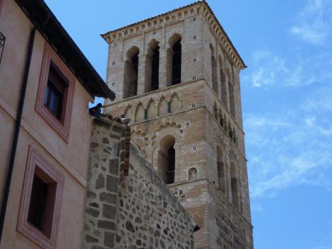 Toledo: Kirche Santo Tomé - Turm (2019)