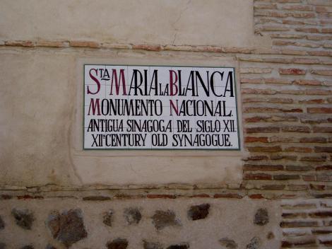 Toledo: Synagoge Santa Maria la Blanca (1986)