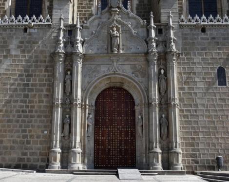 Toledo: Kirche San Juan de los Reyes - Portal (2019)