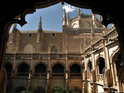 Toledo: Kirche San Juan de los Reyes - Kreuzgang (2019)