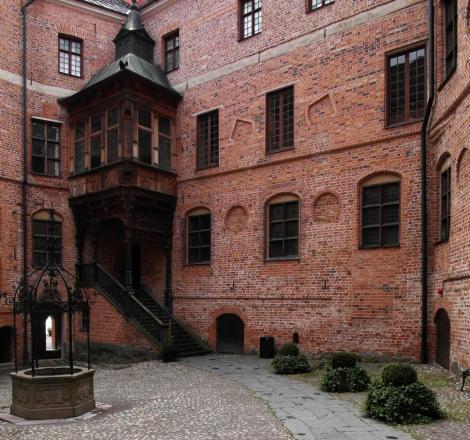 Schloss Gripsholm: Innerer Burghof (2019)