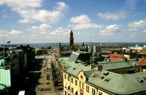 Helsingborg: Blick vom Kärnan (2001)