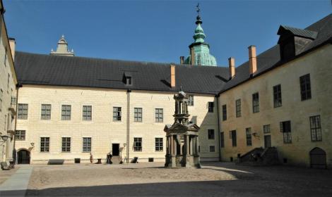 Kalmar: Schloss - Innenhof (2019)
