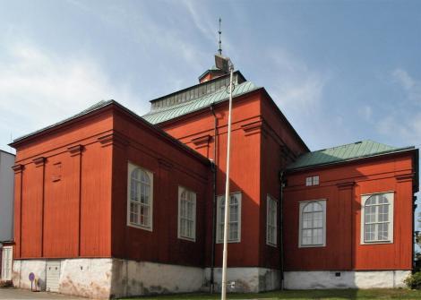 Karlskrona: Admiralitätskirche (2019)