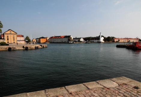 Karlskrona: Blick zur Insel Stumholmen (2019)