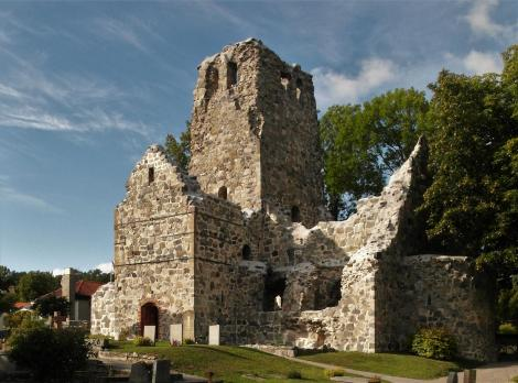 Sigtuna: Kirchenruine St. Olof (2019)