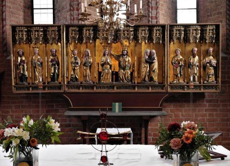 Sigtuna: Marienkirche Flügelaltar [Marienkrönung, Lübeck] (2019)