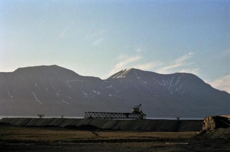 Spitzbergen: Longyearbyen - Kohlemine (1978)