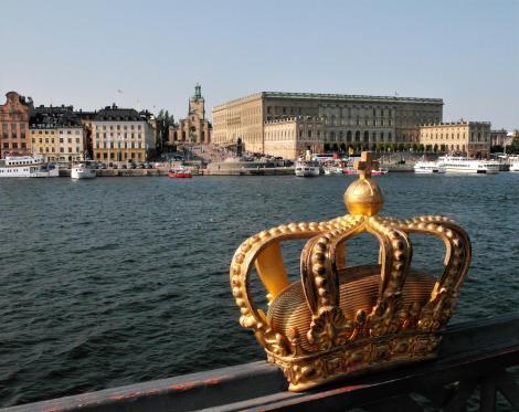 Stockholm: Blick zum Schloss (2019)