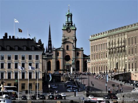 Stockholm: Nikolaikirche und Schloss (2019)