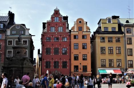 Stockholm: Großer Markt [Stortorget] (2019)