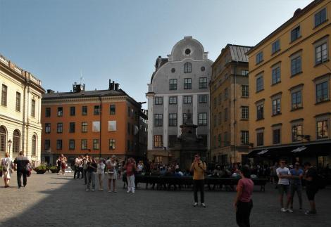 Stockholm: Großer Markt [Stortorget] - Mitte Grillhaus (2019)