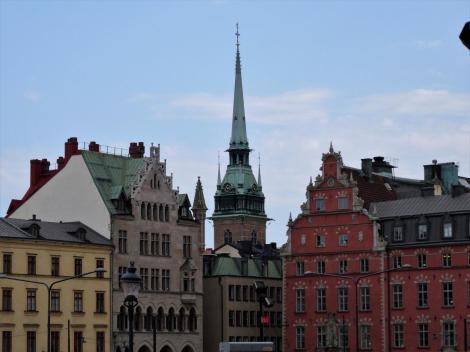 Stockholm: Blick zur Deutschen Kirche [von der Ritterinsel] (2019)