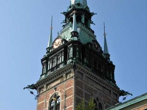 Stockholm: Deutsche Kirche - Turm (2019)