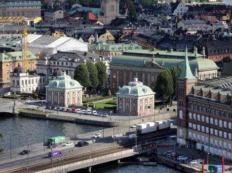 Stockholm: Ritterhaus [Blick vom Stadthaus] (2019)