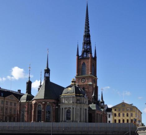Stockholm: Ritterinselkirche [Riddarholmskyrkan] (2019)