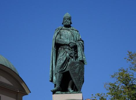Stockholm: Birger Jarl-Statue (2019)