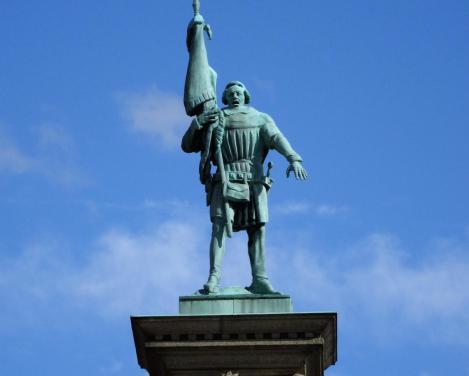 Stockholm: Engelbrekt-Statue beim Stadthaus (2019)
