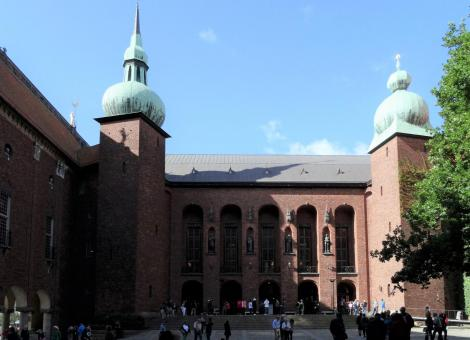 Stockholm: Stadthaus - Bürgerhof (2019)